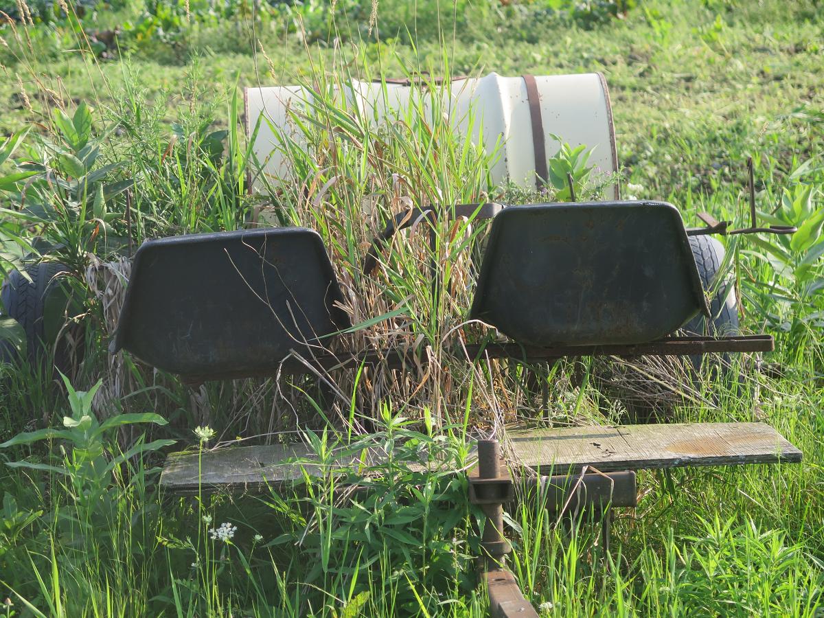 Planteur à 2 places - 2-seated planter